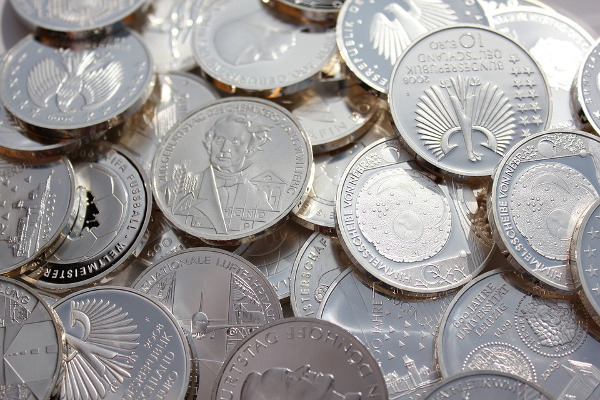 silver coins 1