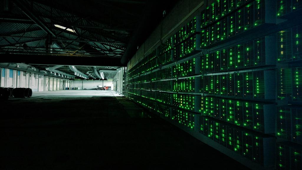 BItcoin mining image
