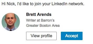 LinkedIn Barron's