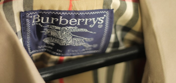 Iconic Fashion House Burberry in Trouble