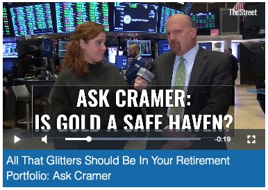 Jim Cramer Gold