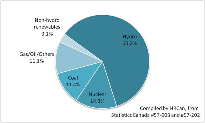 Renewable Energy Use Pie Chart