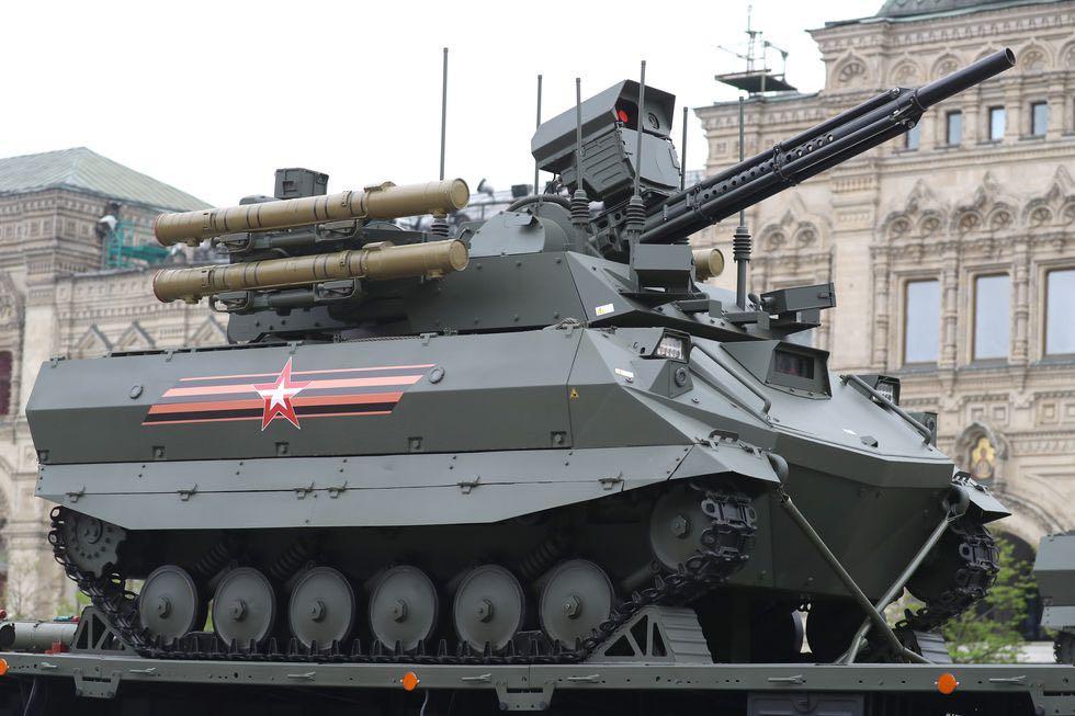 Russia Autonomous Combat Vehicle
