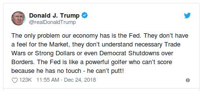 Trump Fed Tweet