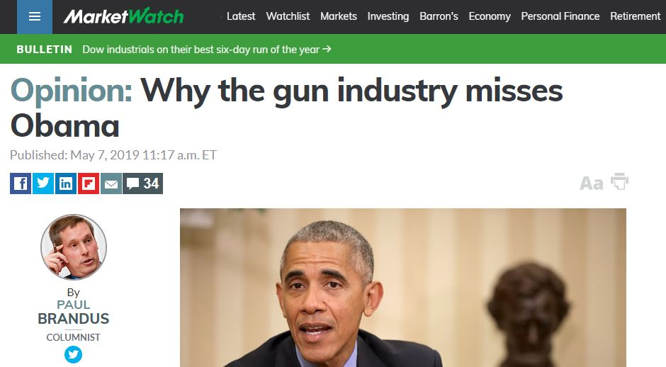 Why the gun industry misses Obama