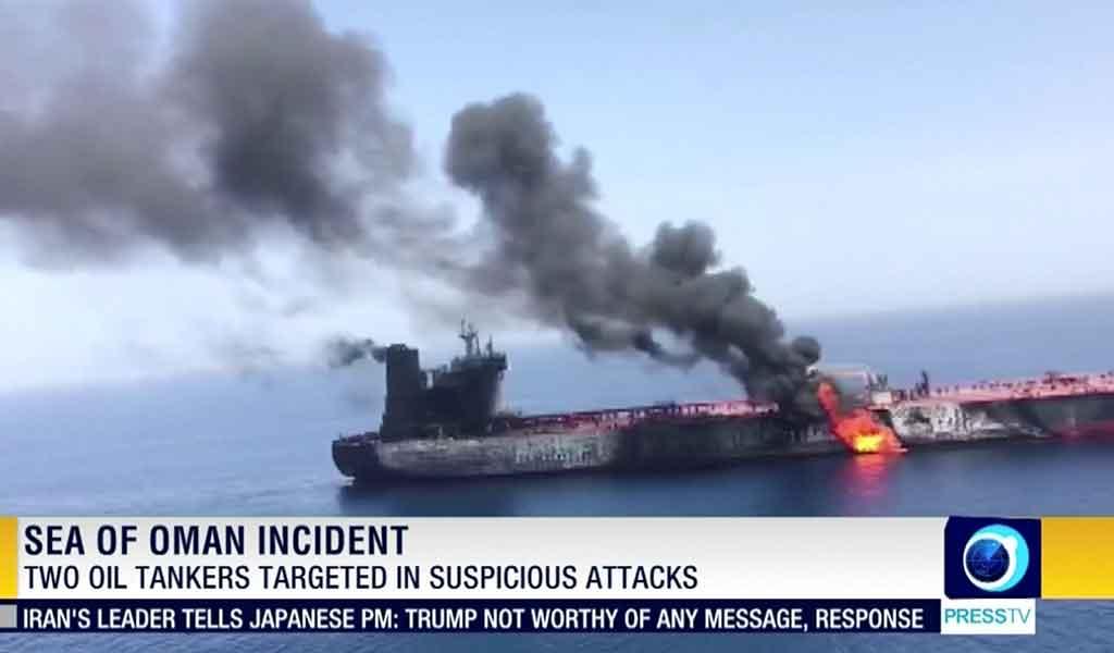 Iran Tanker Attack