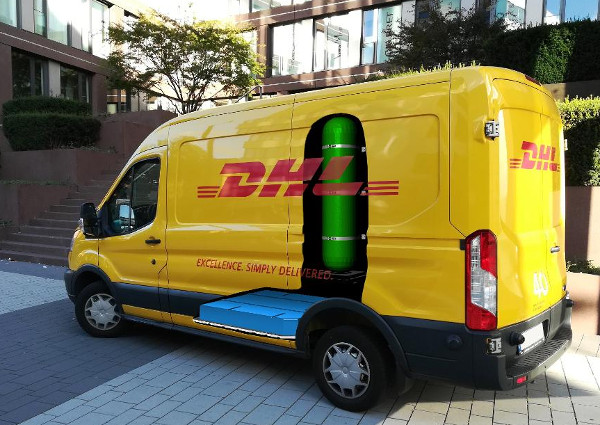 DHL fuel cell