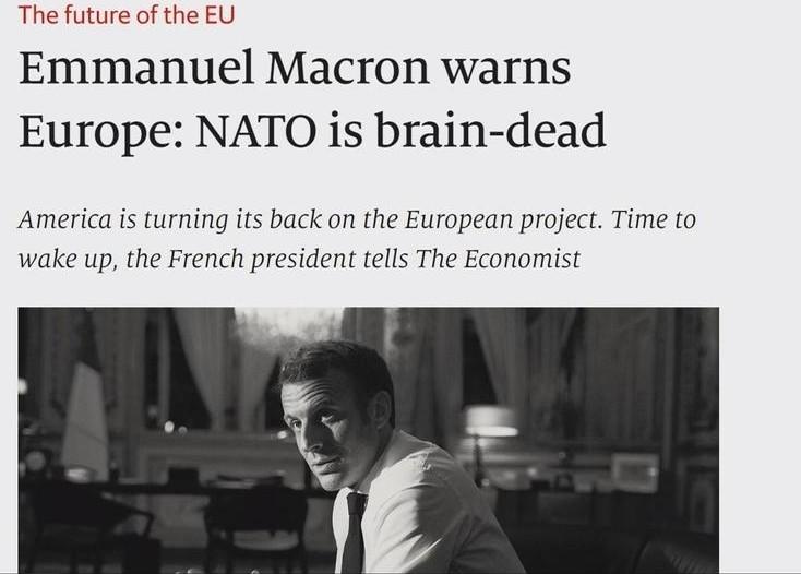 Macron NATO