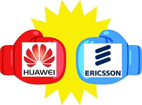 ericsson vs huawei boxing gloves