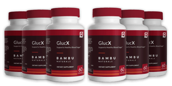 6 bottles GlucX