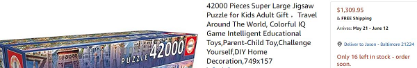 Expensive Puzzle