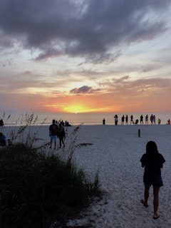 Long Beach Key Sunset