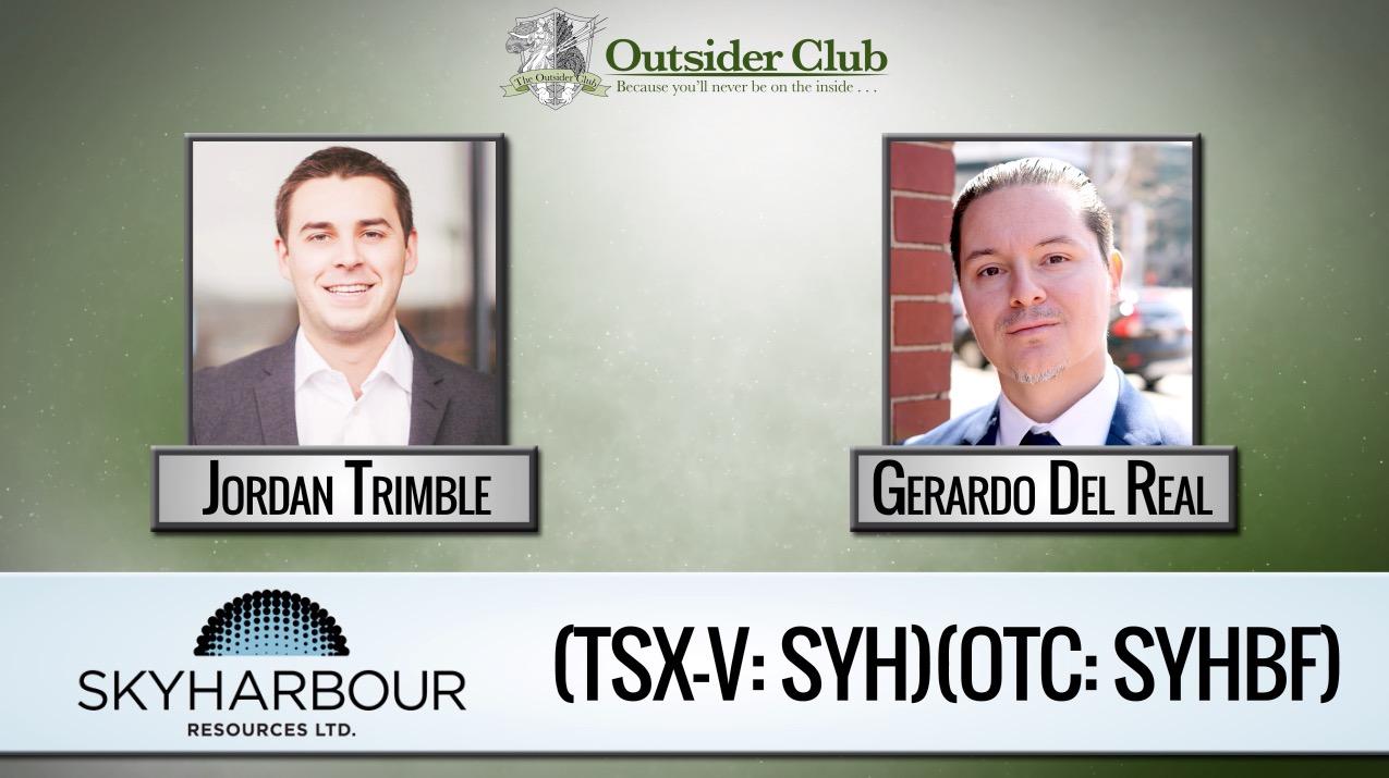 Gerardo Del Real Jordan Trimble Skyharbour Resources