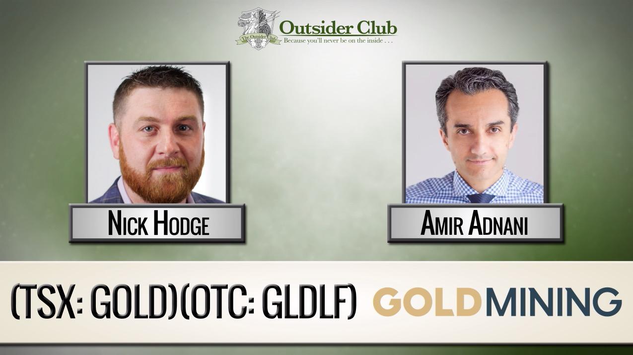 Nick Hodge Amir Adnani Goldmining