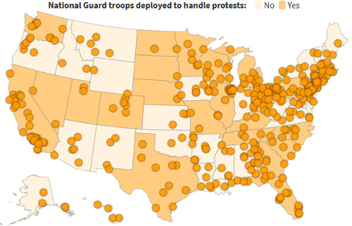 national guard deployments map