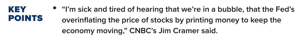 CNBC Cramer Quote
