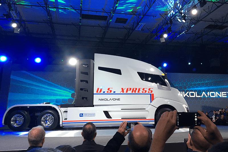 nikola corporation, truck