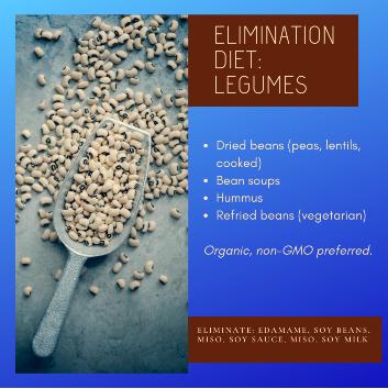 Elimination Diet Legumes
