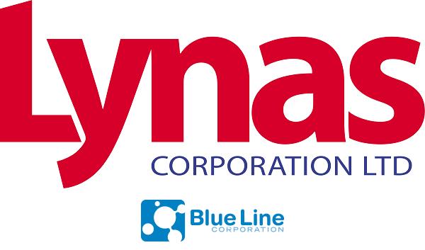 Lynas Blue Line Logos