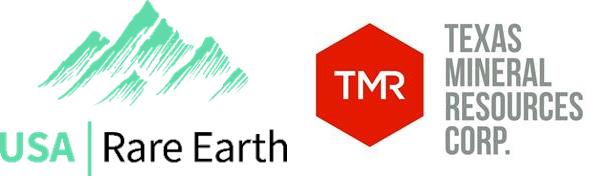 usa rare earth tmrc logos