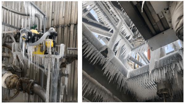 frozen nat gas plant