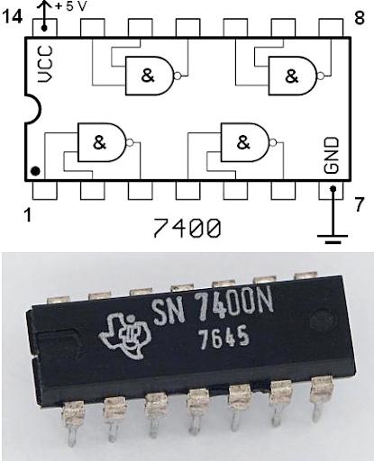 Computer Chip Schematic