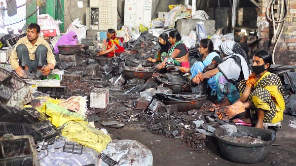 battery recycling in india